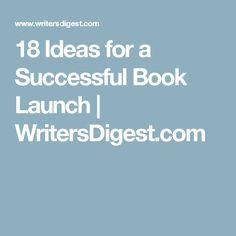 18 Ideas for a Succe