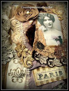 Suziqu's Threadworks: A French Themed Swap