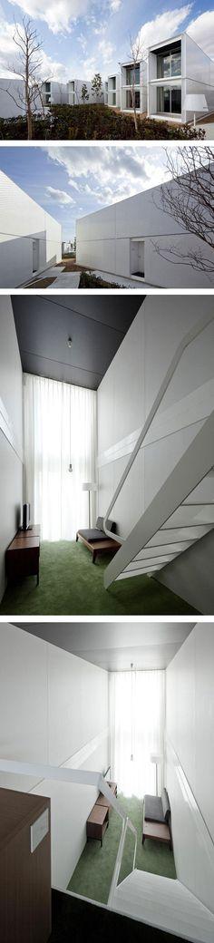 Arquitectura modular en Yokohama por los arquitectos japoneses Yasutaka Yoshimura