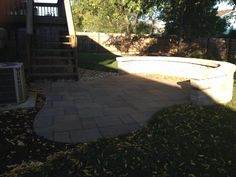 Lafitt patio #TopekaLandscape
