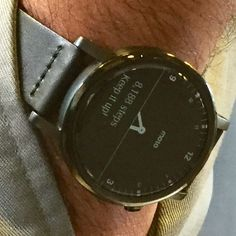Look out for the Moto 360 #smartwatch if you are in Chicago! #Wearables2015