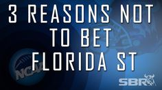 3 Reasons Not To Bet Top-Ranked Florida St In College Football In 2014-15