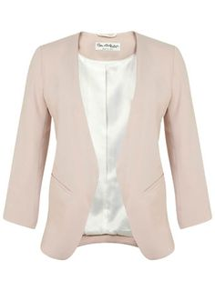 Spring Fashion 2015 - Miss Selfridge Drape Jacket