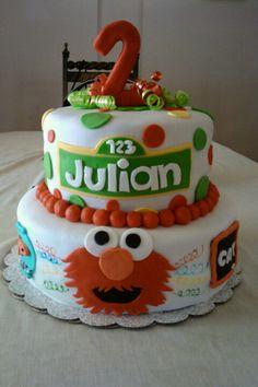 Elmo Cake @Adriane Bushman
