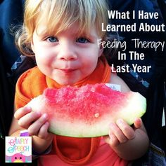 Simply Speech: What I Have Learned About Feeding Therapy in the Last Year. Pinned by SOS Inc. Resources. Follow all our boards at pinterest.com/sostherapy/ for therapy resources.
