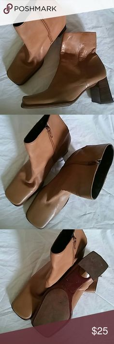 Nine West Boots Size 6.5 M Genuine Leather..Preowned Nine West Shoes Ankle Boots & Booties