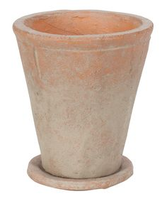 Look at this Round Red Clay Pot