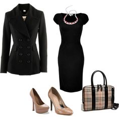 day at the office, created by #cmarieshipman on #polyvore. #fashion #style Narciso Rodriguez #Burberry