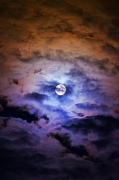 Blue Moon over Timmins by Diane Picard Aug 31, 2012