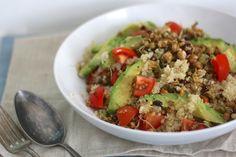 Super Skinny: Quinoa-salade met sprouty #healthy #skinny #quinoa