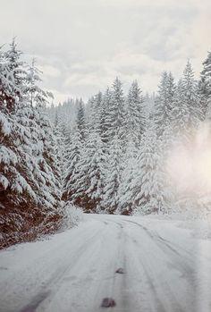 winter roads.