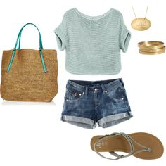 Summer Afternoon, created by sadbiss.polyvore.com