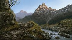 Illustration - Digital, CGI, Matte Painting