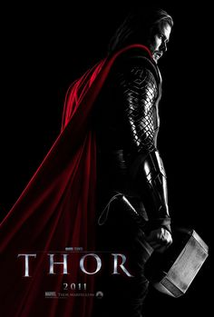 A gallery of Thor publicity stills and other photos. Featuring Chris Hemsworth, Natalie Portman, Tom Hiddleston, Anthony Hopkins and others. Marvel Dc, Marvel Comics, Films Marvel, Poster Marvel, Anthony Hopkins, Natalie Portman, Tom Hiddleston, Kat Dennings, Idris Elba