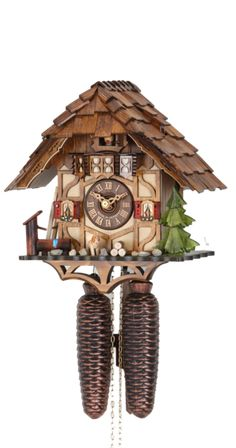 Cuckoo Clock Black Forest House by Hekas