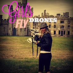 Girls Fly drones to!  Come on girls show me what you got! Get out there and fly.  https://dynnexdrones.com/