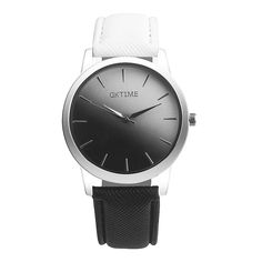 2017 Newly Retro Rainbow Design Leather Band Analog Alloy Quartz Wrist Watch Dropshipping L607 #Affiliate