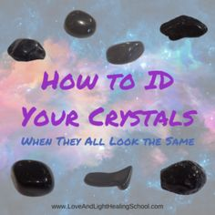 People ask me all the time how I got so good at identifying stones.  The answer, like most things, is practice.  I look at literally thousands and thousands of crystals every year and after all of that exposure to crystal eye candy, it's easy to begin... Healing School, Rocks And Minerals, Crystals Minerals, Crystals And Gemstones, Stones And Crystals, Buy Gemstones, Healing Crystals, Healing Stones, Chakras