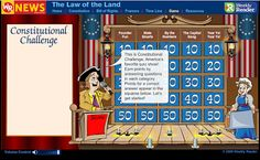 Free Technology for Teachers: Interactive U.S. Constitution Games & Lessons