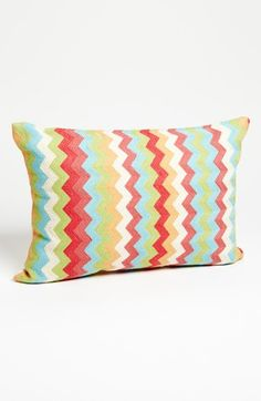 Mina Victory 'Short Chevron' Pillow available at #Nordstrom