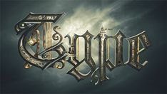 Steampunk Typography by Alex Beltechi, via Behance