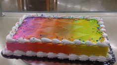 Kake Som Skifter Farge Ferdig