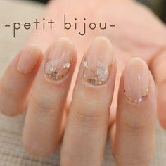貴石象嵌 | Nail Atelier ―petit bijou―