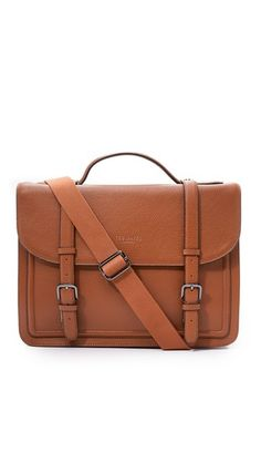 81e3dbda9469da Ted Baker Jagala Leather Flap Briefcase Ted Baker Bag