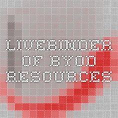 Livebinder of BYOD resources