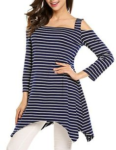 DREAMVAN Women Casual O-Neck Sleeveless Print Flare Hem Long Vest Top Tanks /& Camis