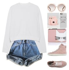 """""""Untitled #248"""" by jovana-p-com ❤ liked on Polyvore featuring Levi's, Acne Studios, Karl Lagerfeld, Apepazza, Chloé and Casetify"""