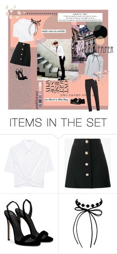 """""""DATING #1"""" by gudetaema ❤ liked on Polyvore featuring art"""