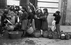 Restricciones de agua en Madrid, 15 de diciembre de 1950