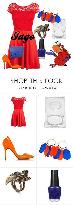 """""""Iago"""" by amarie104 ❤ liked on Polyvore featuring Napoleon Perdis, McQ by Alexander McQueen, Friis & Company and OPI"""