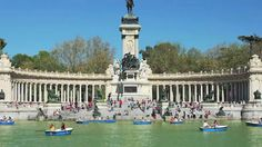 Travel Spain, Madrid - Retiro Park