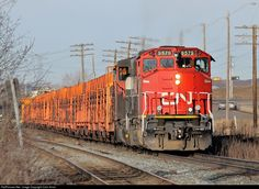RailPictures.Net Photo: CN 9579 Canadian National Railway GP40-2L(W) at Edmonton, Alberta, Canada by Colin Arnot