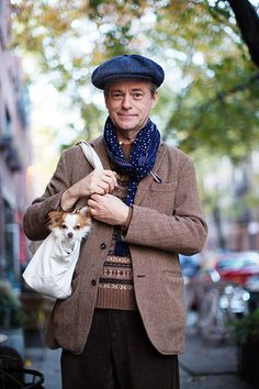 On the Street…East Second St., New York | The Sartorialist | Bloglovin'