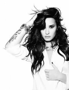 Demi Lovato, she had her issues , but she worked them out and damn her voice!!