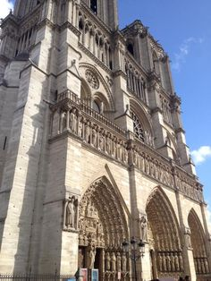 Notre Dame, Paris France.  Honeymoon in Paris and London. Yes!