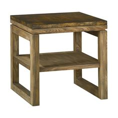 Hammary Furniture - High Point, NC - SPACES :: SQUARE END TABLE  196-915