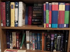 All My Fav Author's books in a single shelf! <3 Dan Brown n JK Rowling ^_^
