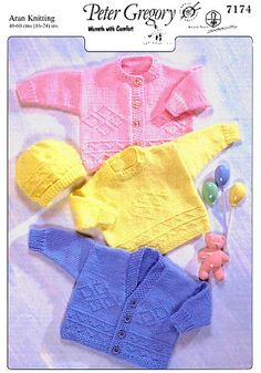 d005251921a9 20 Best Vintage Baby Knitting Patterns images