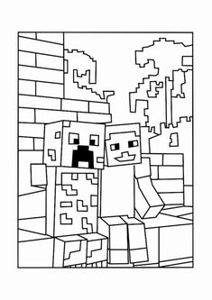 Minecraft Animal Coloring Pages. 20 Minecraft Animal Coloring Pages. Minecraft Coloring Pages by Scribblefun On Minecraft Minecraft Coloring Pages, Pokemon Coloring Pages, Animal Coloring Pages, Coloring Pages To Print, Coloring For Kids, Coloring Pages For Kids, Coloring Books, Lego Minecraft, Minecraft Wolf