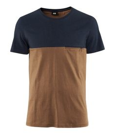 H Dark Camel T-Shirt £5.99