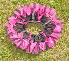 Custom Black/Hot Pink Tutu!