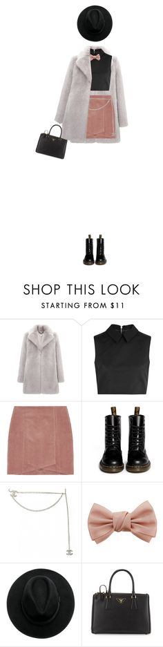 """Untitled #771"" by redx1202 ❤ liked on Polyvore featuring Whistles, McQ by Alexander McQueen, Dr. Martens, Chanel, Dorothy Perkins, Prada, women's clothing, women's fashion, women and female"