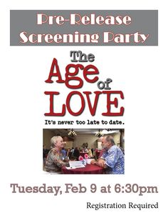 Speed dating for 70 year olds
