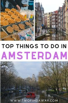Amsterdam is a city filled with amazing things to do, but here are our top favorite! The city is a dream for travel lovers and Amsterdam is magical in every season. Don't miss the best things to do in Amsterdam, the capital of the Netherlands, tulips, and cheese! Travel tips for Amsterdam I Visit Amsterdam I Travel The Netherlands I What to See in Amsterdam I Top Things Amsterdam I One day in Amsterdam I Amsterdam Itinerary #amsterdam #traveltips