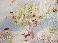Handmade Baby Quilt Gender Friendly Little Rascals All Cotton. $55.00, via Etsy.