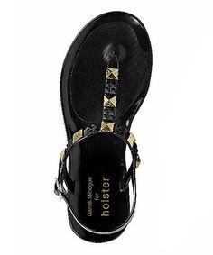 0ef1928ee232 holster Black Studded Rockstar Sandal
